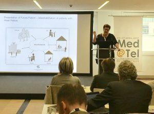 Birthe Dinesen presenting af Med-e-Tel