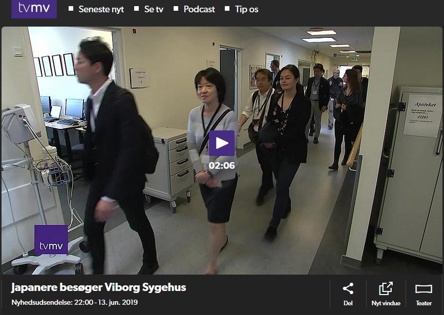TV MV: Japanere Besøger Viborg