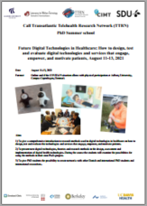 Flyer TTRN PhD Summer School 2021
