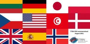 TTRN PhD School 2021, Flags